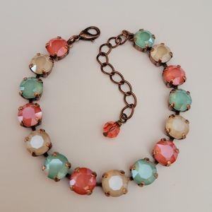 🧜Hand Crafted Swarovski Crystal Bracelet